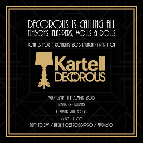 INVITATION KARTELL - website