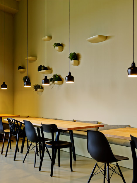 Aurélie Blanchard makes over the canteen in Gehry's Vitra Factory Building