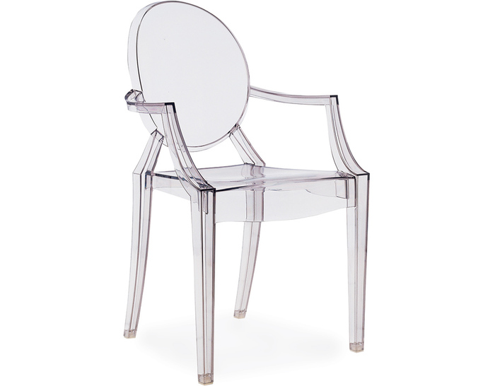 The Iconic Louis Ghost Chair by Kartell